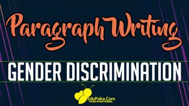 Photo of Gender Discrimination Paragraph Writing