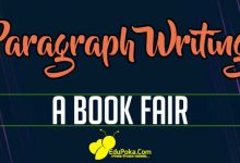 Photo of A Book Fair Paragraph Writing