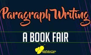 A Book Fair Paragraph Writing