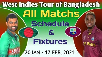 Photo of Bangladesh VS West Indies 2021 Fixtures